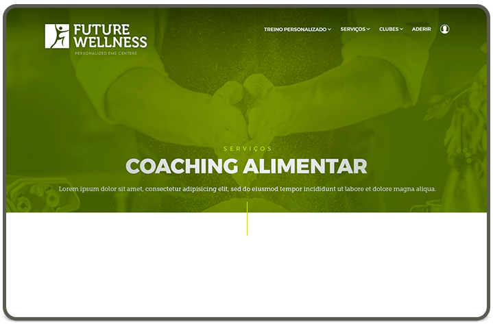 Food Coaching page [header]